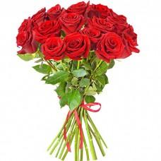 Букет из 19 красных роз
